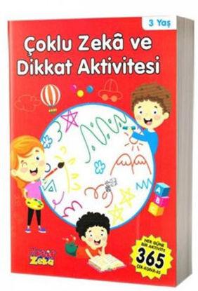 3 Yaş Çoklu Zeka ve Dikkat Aktivitesi - Kırmızı Kitap resmi