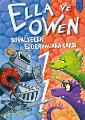 Şövalyeler Ejderhalara Karşı - Ella ve Owen 3 (Ciltli) resmi