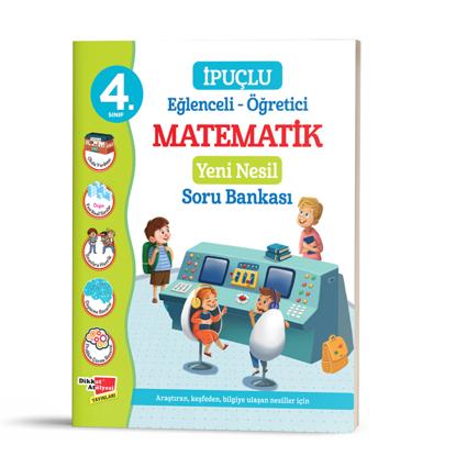 4. Sınıf Eğlenceli - Öğretici İpuçlu Matematik Yeni Nesil Soru Bankası resmi