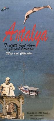 Antalya Kent Planı ve Haritası resmi