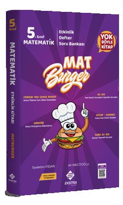 5. Sınıf Matematik MatBurger Kitabı resmi