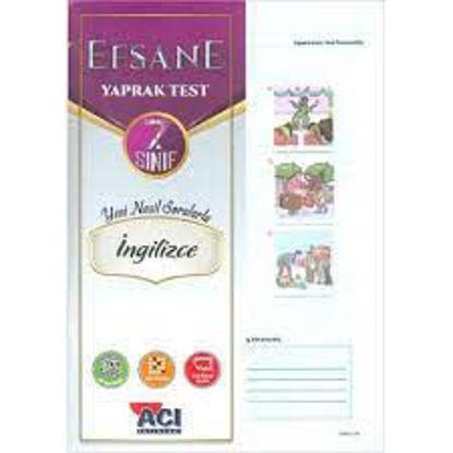 7.Sınıf İngilizce Yaprak Test resmi