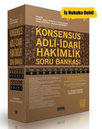 Konsensus Adli İdari Hakimlik Soru Bankası Set resmi