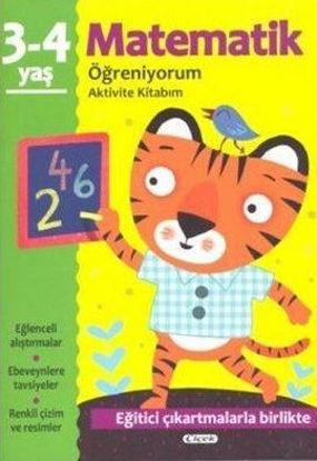 Matematik Öğreniyorum 3-4 Yaş Aktivite Kitabım resmi