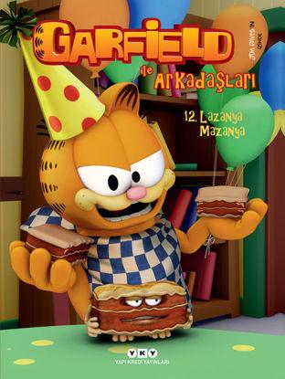 Garfield ile Arkadaşları 12 - Lazanya Mazanya resmi