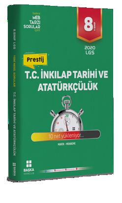 8.Sınıf T.C. İnkilap Tarihi Ve Atatürkçülük Soru Bankası resmi