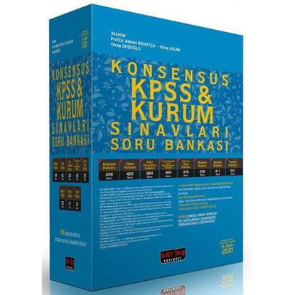 Konsensus Kpss Kurum Sınavları Soru Bankası resmi