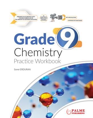 9 Grade Chemistry Practice Workbook resmi