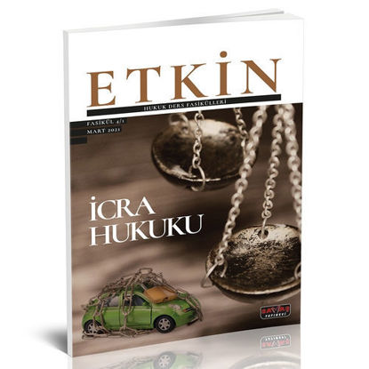 Etkin Hukuk Ders Fasikülleri 1 - İcra Hukuku resmi