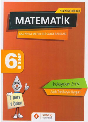 6. Sınıf Matematik Kazanım Merkezli Soru Kitapçığı Seti resmi