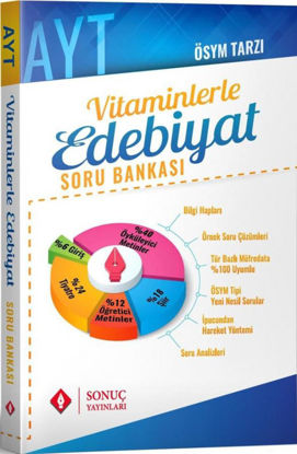 AYT Vitaminlerle Edebiyat Soru Bankası resmi