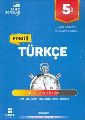5. Sınıf Türkçe Prestij Yeni Nesil Soru Bankası resmi