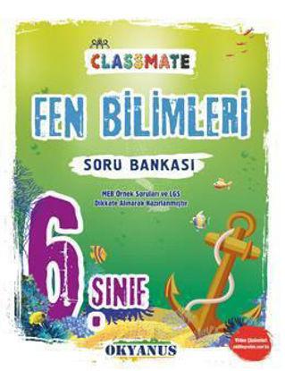 6.Sınıf Fen Bilimleri Soru Bankası Classmate resmi