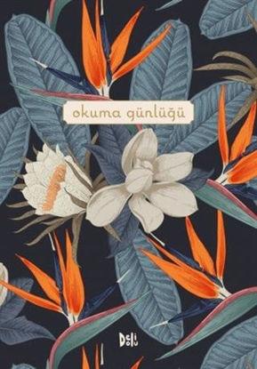 Okuma Günlüğü - Çiçekli Kapak resmi