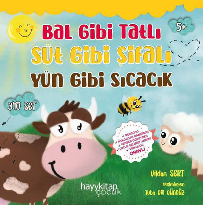 Bal Gibi Tatlı Süt Gibi Şifalı Yün Gibi Sıcacık Seti - 3 Kitap Takım resmi