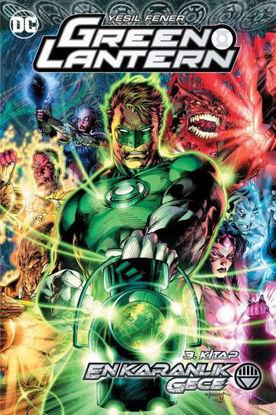 Green Lantern Cilt 3 - En Karanlık Gece resmi