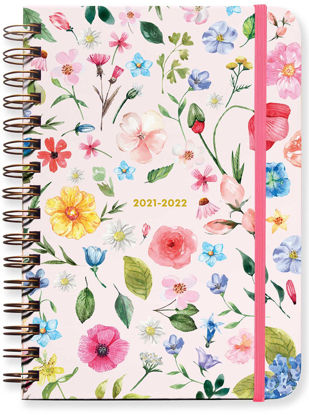 Mini Kır Çiçekleri 17 Aylık Akademik Ajanda 2021 – 2022 resmi