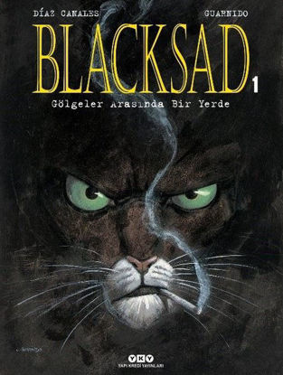 Blacksad 1.Cilt - Gölgeler Arasında Bir Yerde resmi