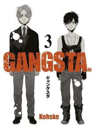 Gangsta Cilt 3 resmi