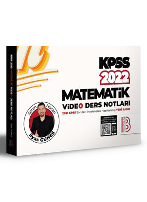 2022 KPSS Matematik Video Ders Notları resmi
