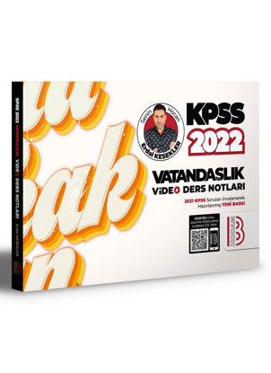 2022 KPSS Vatandaşlık Video Ders Notları resmi