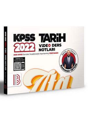 2022 KPSS Tarih Video Ders Notları resmi