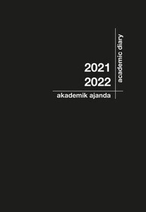 Akademik Ajanda 2021-2022 - Siyah 21x29cm resmi