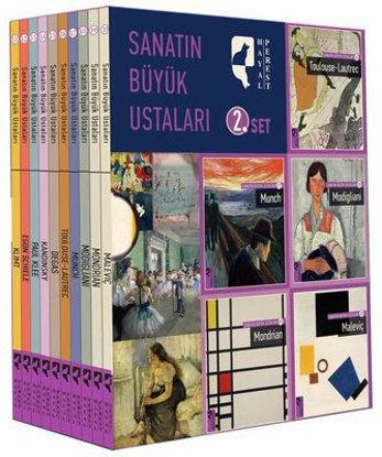 Sanatın Büyük Ustaları 2.Set (10 Kitap Takım) resmi
