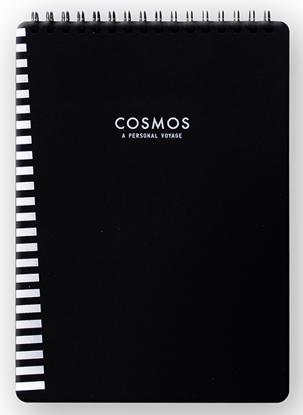 Container Cosmos A6 Üstten Spiralli 40Yp Siyah Defter resmi