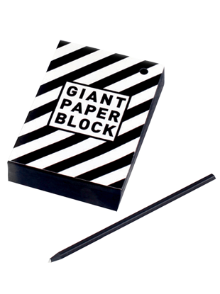 Container Giant Paper Block Siyah Ciltli Kağıt 200 Yp resmi