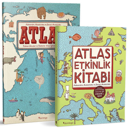 Atlas Set (2 Kitap Takım - Ciltli) resmi